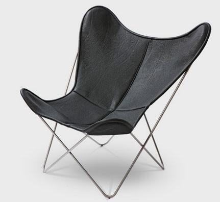 neckleder butterfly chair. Black Bedroom Furniture Sets. Home Design Ideas
