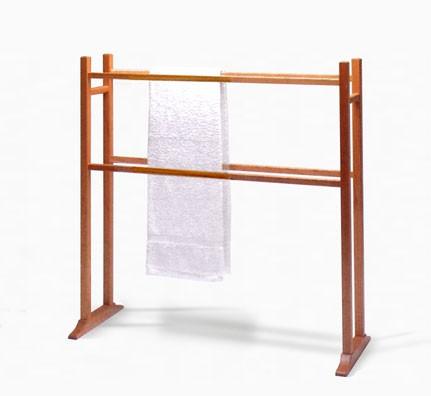 handtuchhalter freistehend holz – kartagina, Moderne