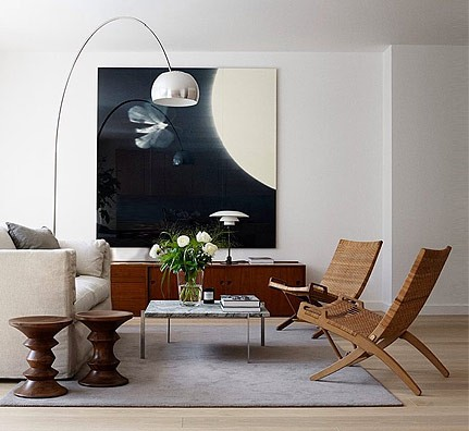 flos arco leuchte castiglioni. Black Bedroom Furniture Sets. Home Design Ideas