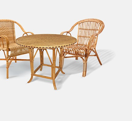 rattan geflecht stuhl grob. Black Bedroom Furniture Sets. Home Design Ideas