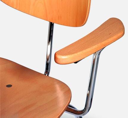 eiermann se 68 arm. Black Bedroom Furniture Sets. Home Design Ideas
