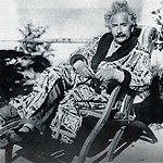 Einstein in Deck Chair (~1930)