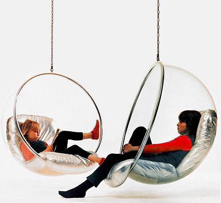 Garten Kinderschaukel , Adelta Aarnio Bubble Chair Orig