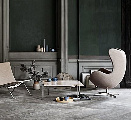 Egg Chair Jacobsen.Fritz Hansen Egg Chair Jacobsen Ei 3316