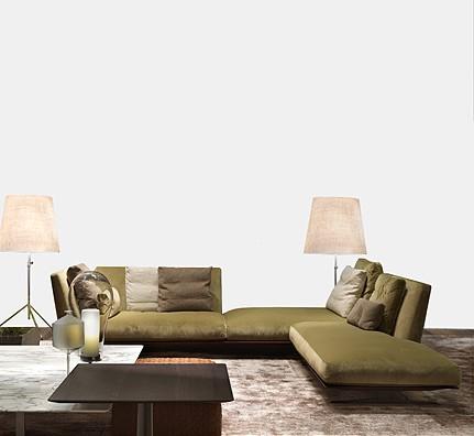 Flexform Evergreen kl. Sofa Citterio