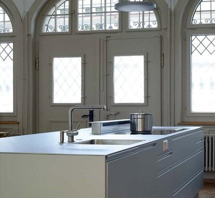 lehni alu k che. Black Bedroom Furniture Sets. Home Design Ideas