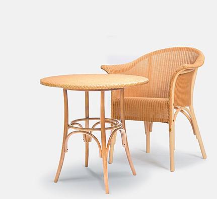 Lloyd Loom Bistro-Tisch (rund)