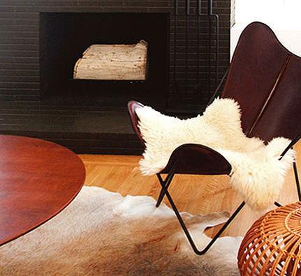 blankleder butterfly chair. Black Bedroom Furniture Sets. Home Design Ideas