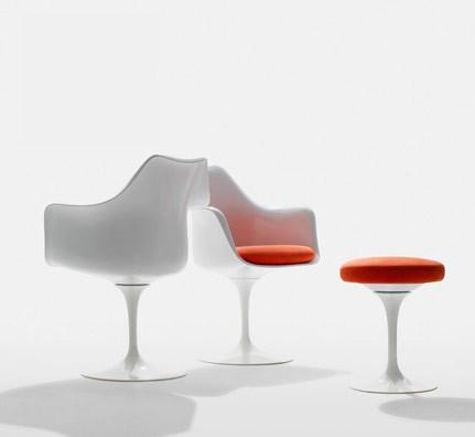 Knoll Tulip Chair Stuhl (Arm-) Saarinen