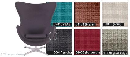 Fritz Hansen® Egg Chair Jacobsen Ei 3316