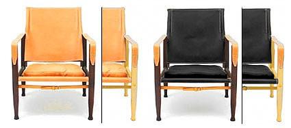 Safari chair (Leder)